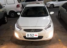 White Hyundai Accent 2014 for sale