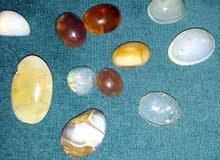 لبيع من احجر الكريمة اصلي وابال الابيض  والاون اخرة