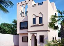 ارض تصريح بناء فلل 280م تملك حر تانى بلوك من شارع الشيخ محمد بن زايد ```o