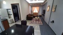 شقة مفروشة للإيجار غرفة وصالة وحمام ومطبخ