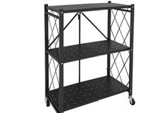 3-Tier Foldable Storage Shelves