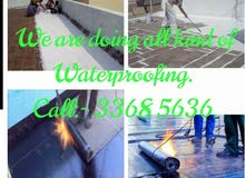 We doing all kind of:- Waterproofing Painting Gypsum Partition Tails Plumbing Electrical Work
