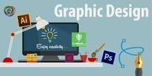 مطلوب مصمم(ة) كرافيك / ((محترف)) لديه خبرة بالمونتاج وبتصميم وترويج الاعلانات
