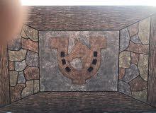 اقوم باعمال ديكور اسمنت جدران +ممرات+حجرعشوائي+حجر روماني +اجزاع شجر+مظلات