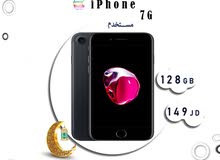 iPhone 7 128G  مستخدم مكفول
