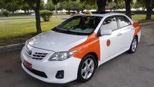 كورولا 2013 تاكسي للبيع بدون الرقم