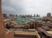 Best price!!  For rent 3 Bedrooms apartment + Maid's room, located in Porto Arabia - The Pearl