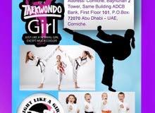 Ladies Teakwondo Skills Training/   تايكواندو للآنسات