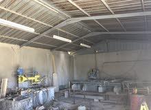 مصنع رخام وحجر للبيع وادي العش على شارع المية