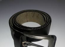 حزام رجالى جلد كاجوال