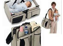 حقيبة الطفل مع سرير مريح اثنين في واحد