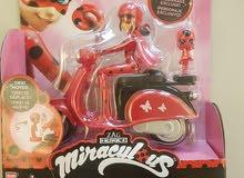 ميراكوليس الدعسوقة miraculous جديدة على دراجة من هامليز دبي مول