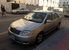 Gold Toyota Corolla 2005 for sale