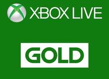 Xbox live gold + game pass بطاقات گولد اونلاين