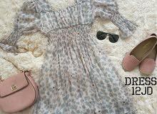 فستان شيفون