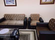 أكبر مجموعة أريكة جديدة 7 مقاعد 3 + 2 + 1 + 1 السعر 500 فقط
