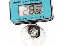 مقياس حرارة حوض السمك