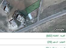 ارض للبيع  مساحة 865م