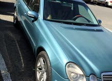 Automatic Turquoise Mercedes Benz 2003 for sale