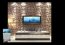 فايبر بلاطات جداريه 3d