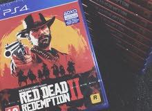 لعبة red dead 2 للبيع