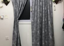 new curtain for sale.  2 piece only 7 kd.  size 220 cm *200 cm.