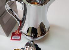 دلة قهوه استانلستيل جديده بالكرتون لم تستعمل