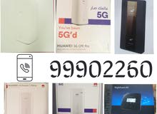 5G Routers and 4G Routers and Fiber Routers