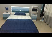 غرفة نوم جديدة استخدام نظيف جداً (بحالة الجديدة100%)