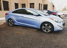 Hyundai Elantra 2013 coupe blue sky metallic