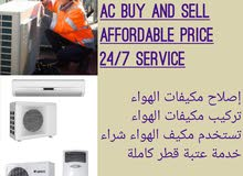 Used A/C and Refrigerator@ 66221820