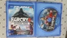 Far cry 4 ps4 للبيع أو البدل فار كراي لعبة