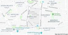 قطعة ارض للبيع في دمشق  ساروجة