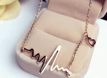 ECG necklaces