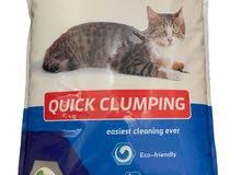 Gazette Cat رمل قطط مصنوعة من الطين الطبيعي فائقة الامتصاص , 20 كجم