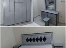 غرف نوم جديدة وطني 6 قطع مع التركيب 1300