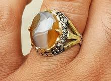 خاتم عقيق يماني مميز جدا