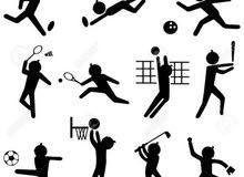 تدريب الالعاب الرياضية  الفردية والجماعية لكافة الأعمار