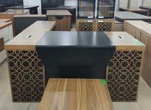 مكتب خشبي إداري شكل جديد خامة ممتازة
