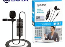 BOYA BY-M1 Omnidirectional Lavalier Microphone for Smartphones DSLR Cameras PC -