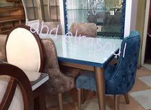 ترابيزات اجتمعات 2 متر + 6 كرسي