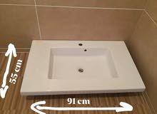 حوض حمام جديد