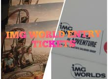 IMG WORLD ENTRY TICKETS