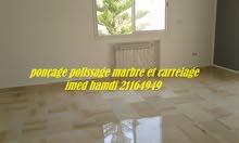 polissage lustrage marbre carrelage nettoyage parterre