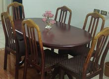 Stylish and strong wooden Dining table for sale