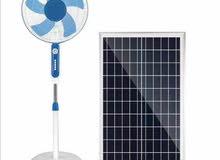 مروحة تعمل بالطاقة الشمسية