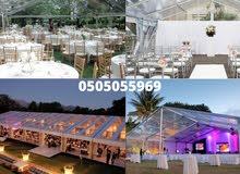 transparent tents rental