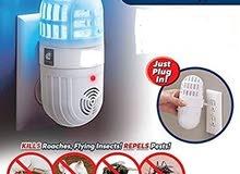 2-in-1 Ultrasonic Pest Repeller