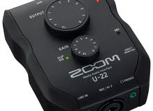 Zoom U-22 Ultracompact 2x2 USB Handy Audio Interface