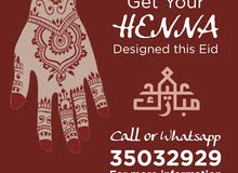 Henna Services for Eid